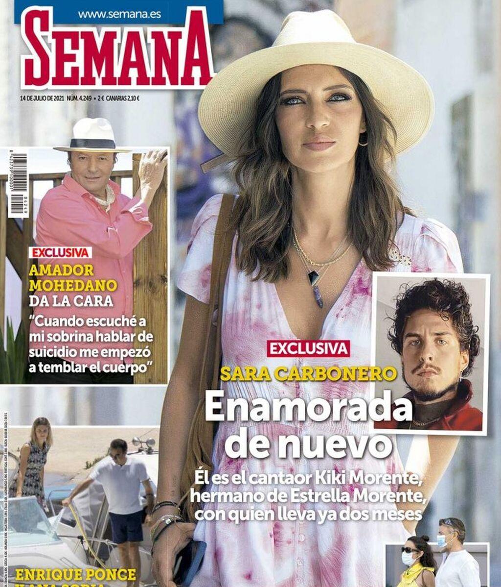 Sara Carbonero, enamorada de Kiki Morente