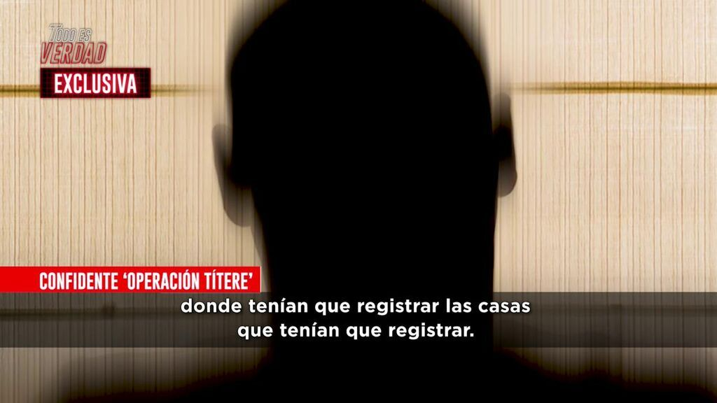 Stephan, confidente de la 'Operación títere'