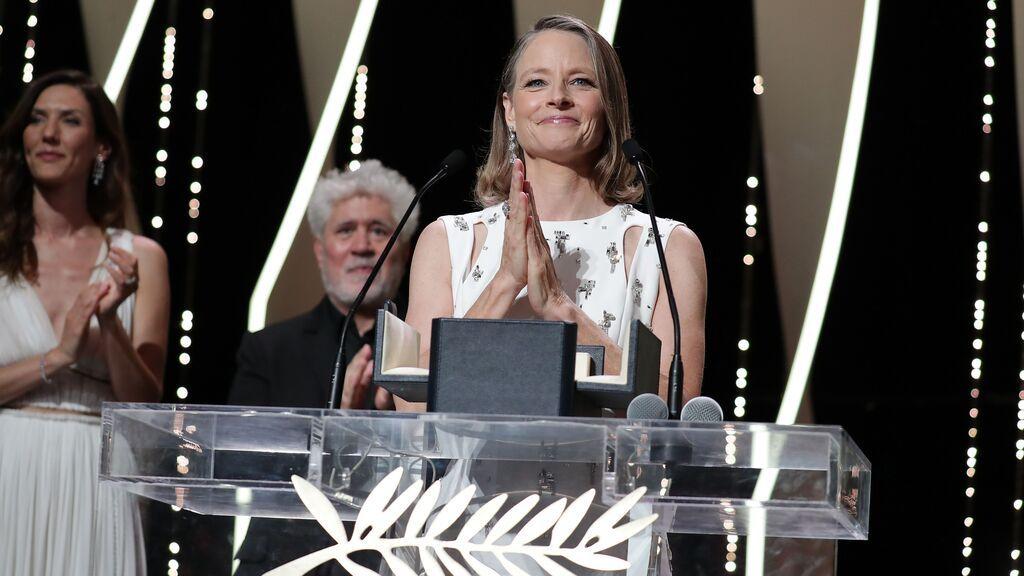 Jodie Foster, de 'Taxi Driver' a la Palma de Oro de honor en Cannes: su vida en diez imágenes icónicas