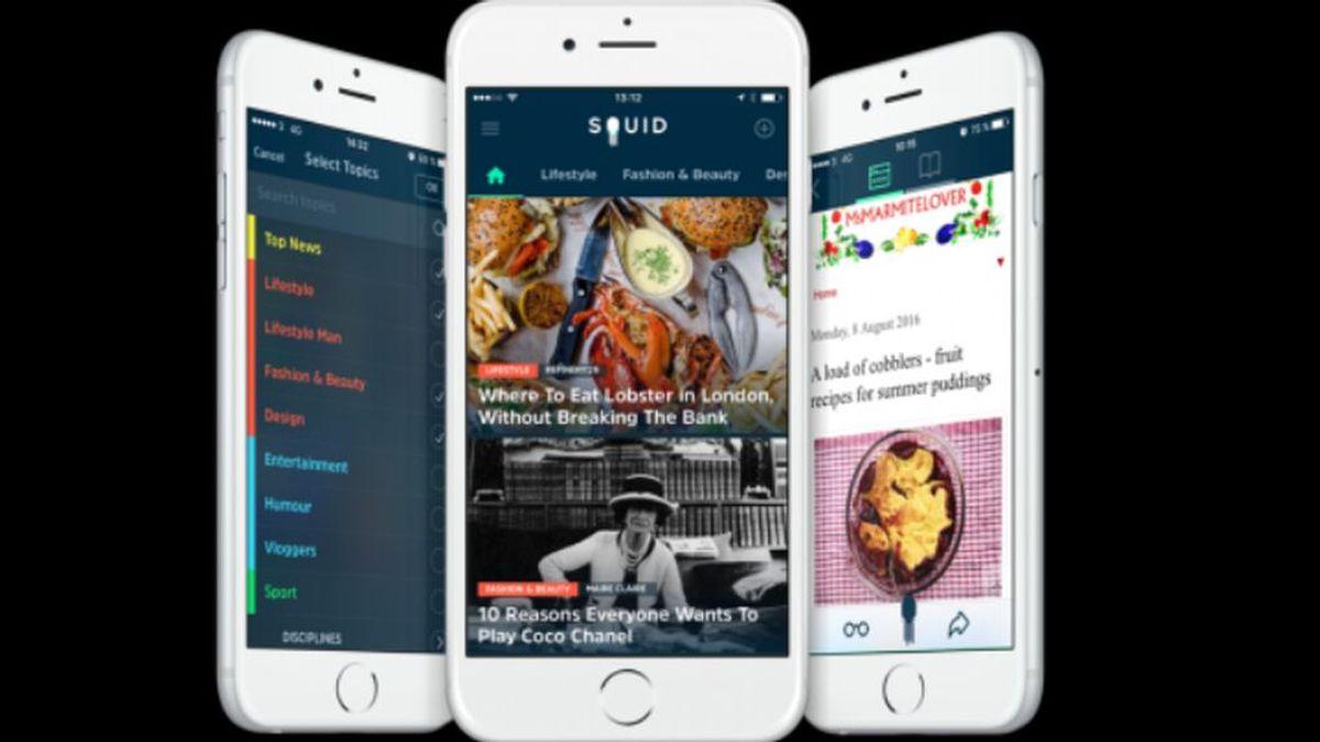 SQUID App, la aplicación de noticias para millennials