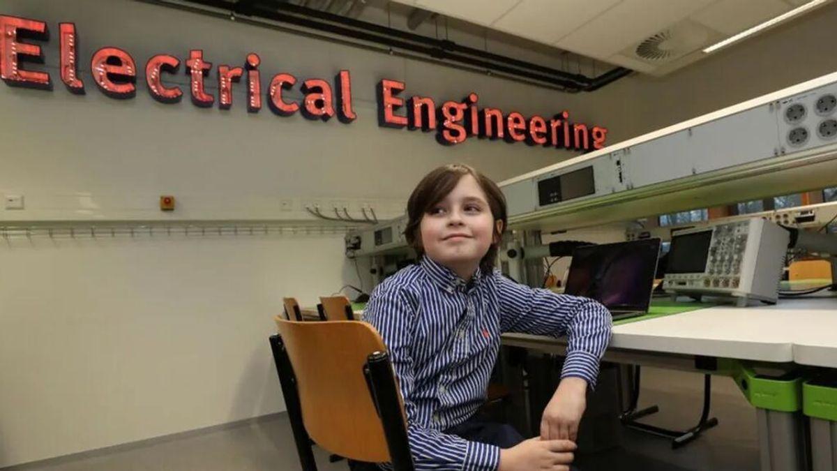 Laurent Simons, el niño prodigio licenciado en física con 11 años cuya meta es que el ser humano sea inmortalL