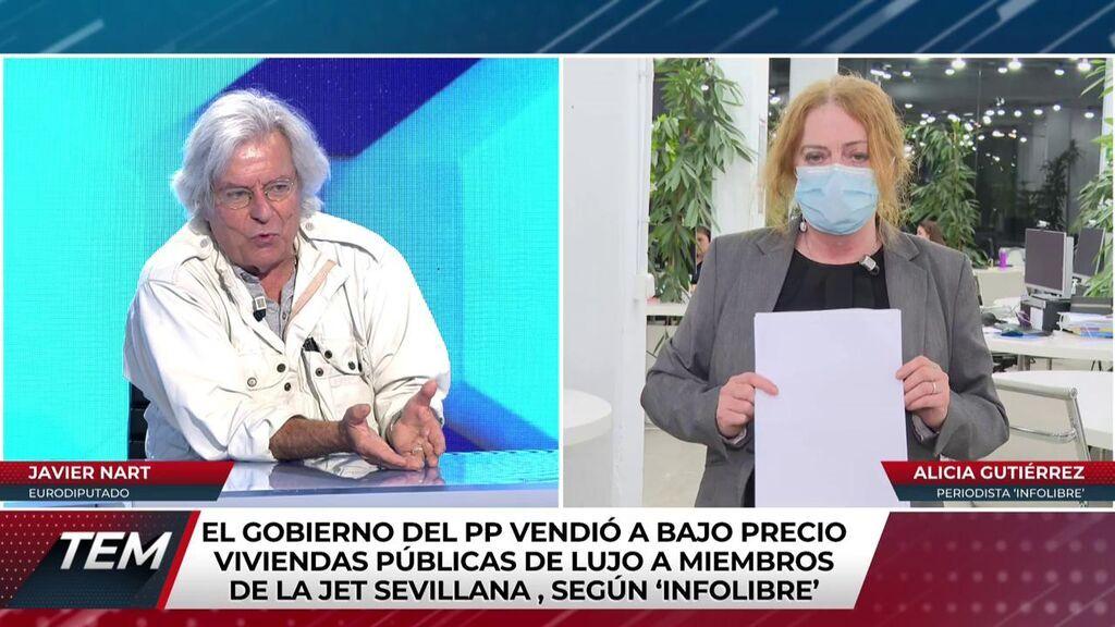 Alicia Gutiérrez habla del presunto fraude en Sevilla