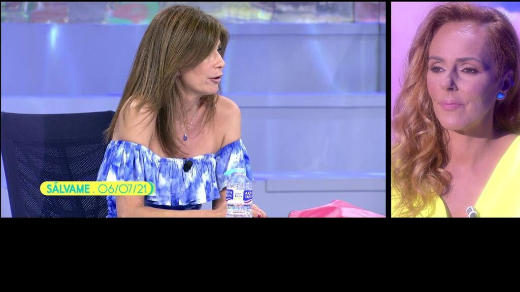"""Rocío Carrasco responde a las críticas de su fichaje por 'Sálvame': """"Lo de Gema López me ha sorprendido"""""""