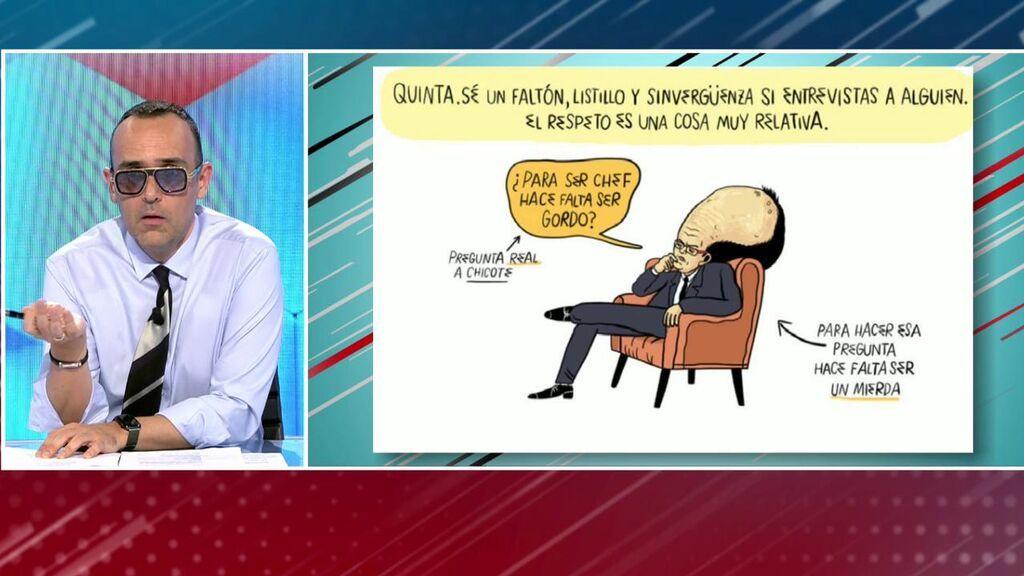 Risto Mejide habla del señalamiento de VOX a 'El Jueves'