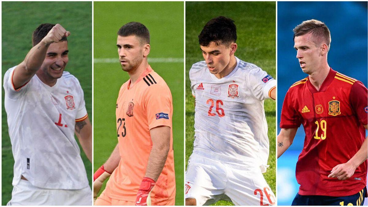El futuro de la Selección que nos ha dejado la Eurocopa: Pedri lidera una generación compuesta por Unai Simón, Dani Olmo y Ferrán Torres