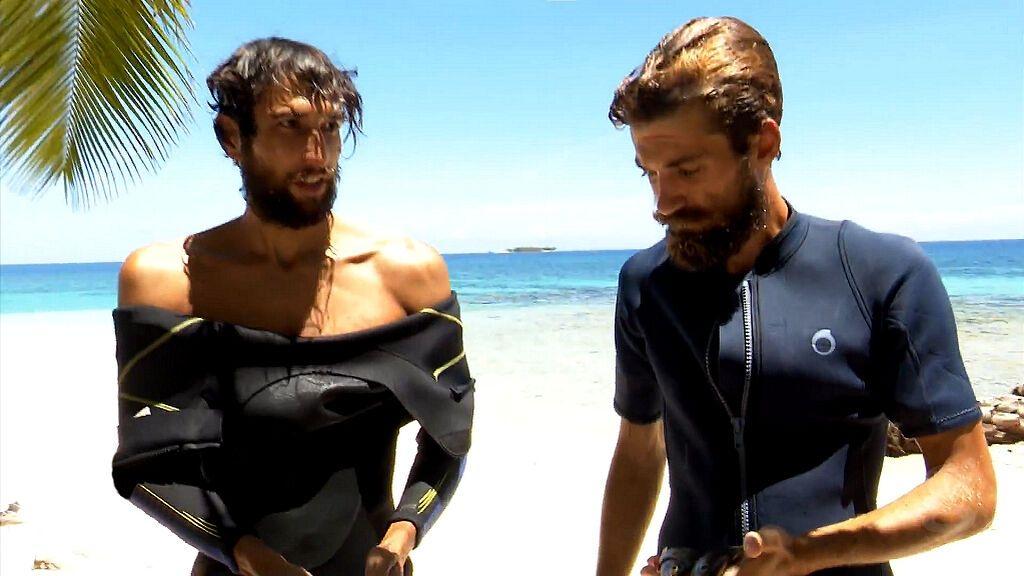 Gianmarco y Alejandro vuelven de pescar
