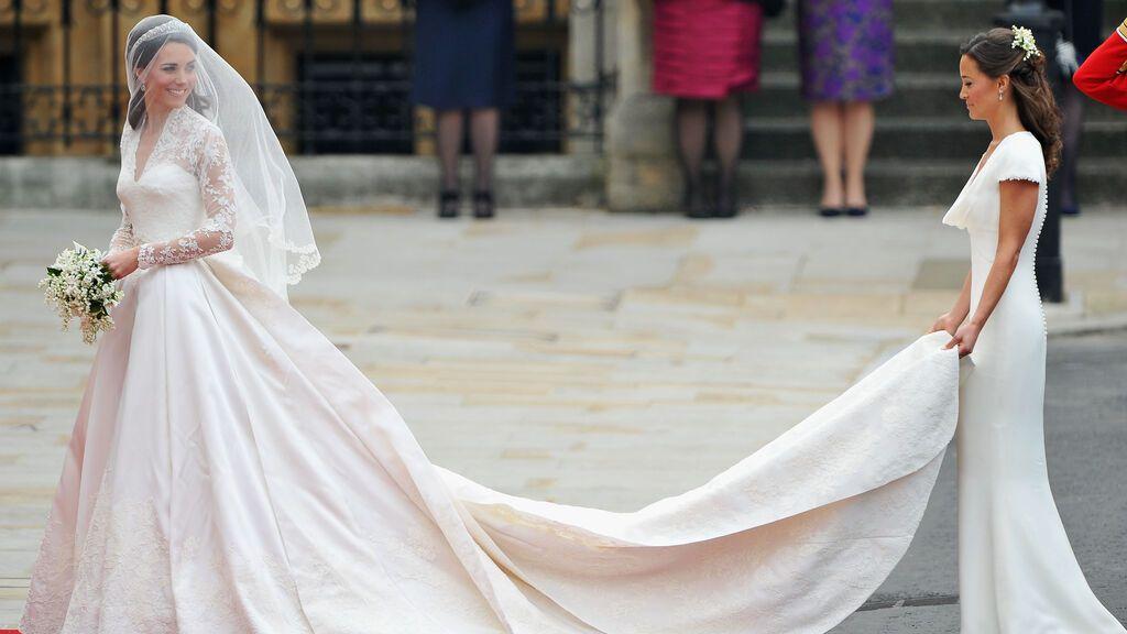 El vestido de Kate fue diseñado por Sarah Burton para Alexander McQueen.