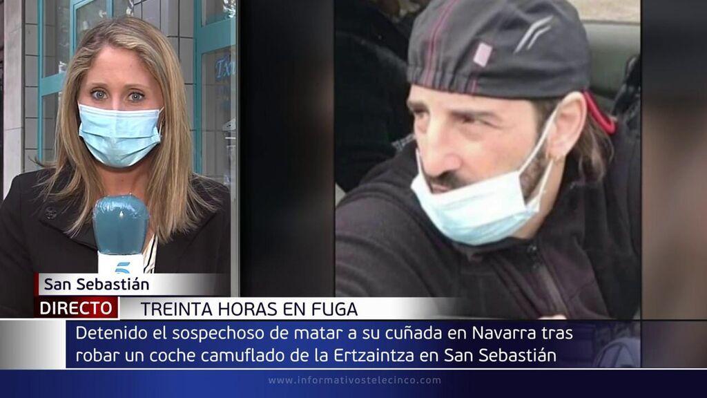 El presunto autor del crimen de Murchante (Navarra) ha sido localizado en una peluquería, cuando cambiaba su aspecto