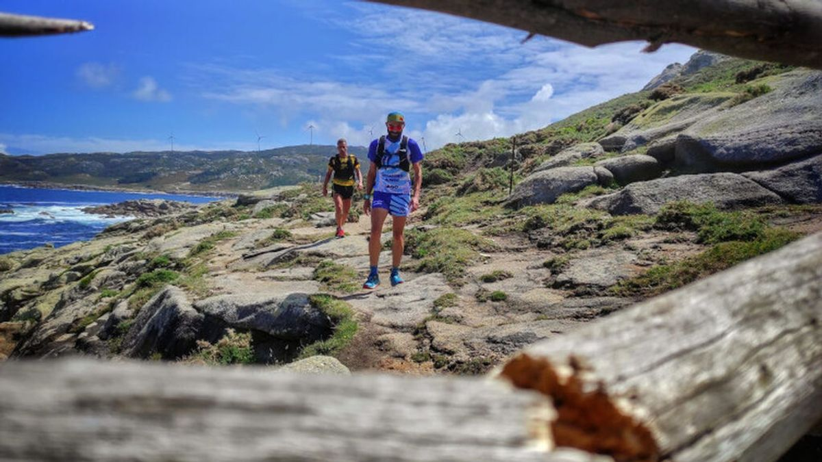 Kike Caamaño e Iago Dosil preparan el reto Ruta dos Faros