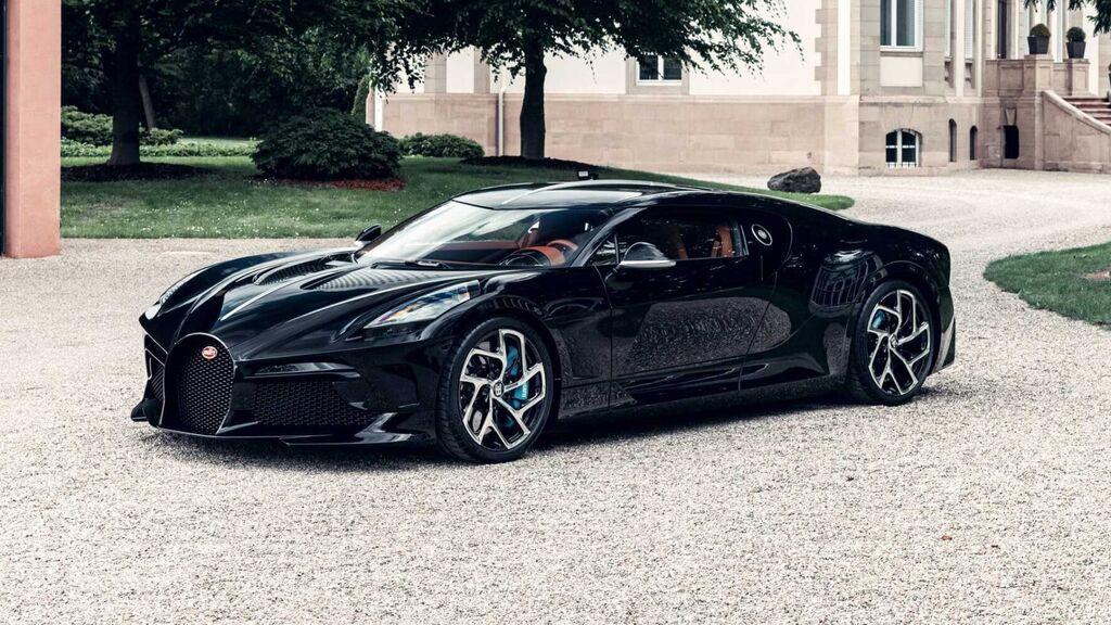 Así es el Bugatti La Voiture Noire de 11 millones de euros.