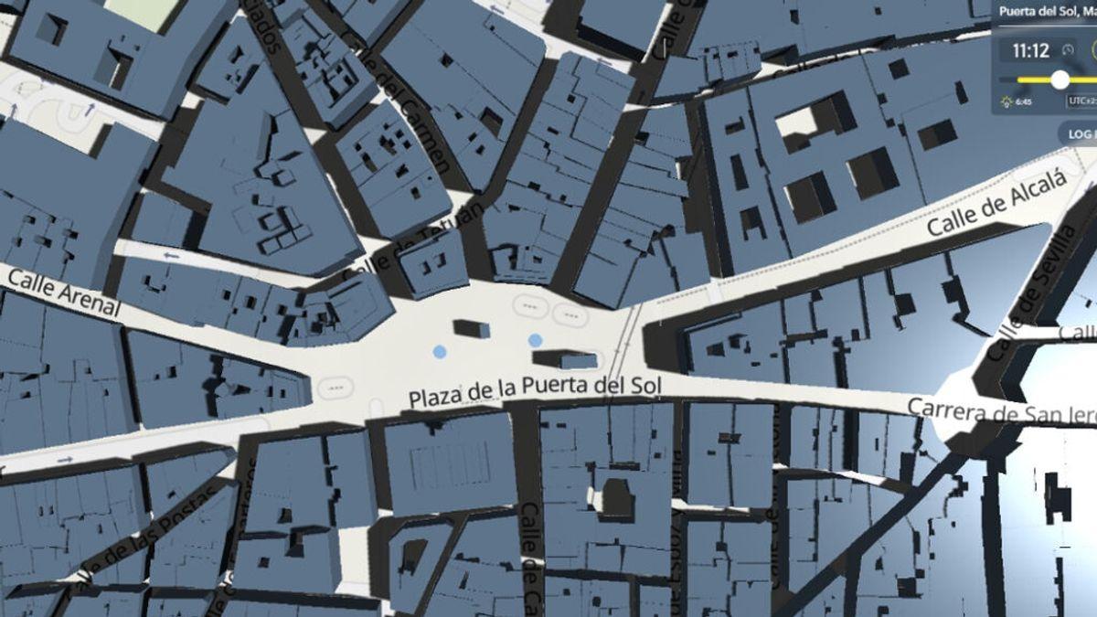 Shadowmap, la app gratuita que encuentra las zonas con sombra en tu ruta