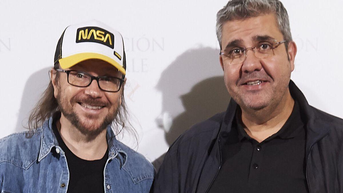 Santiago Segura con Florentino Fernández