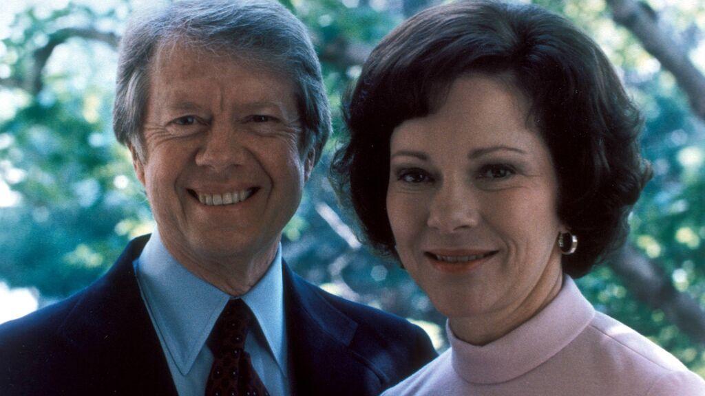Jimmy y Rosalynn Carter