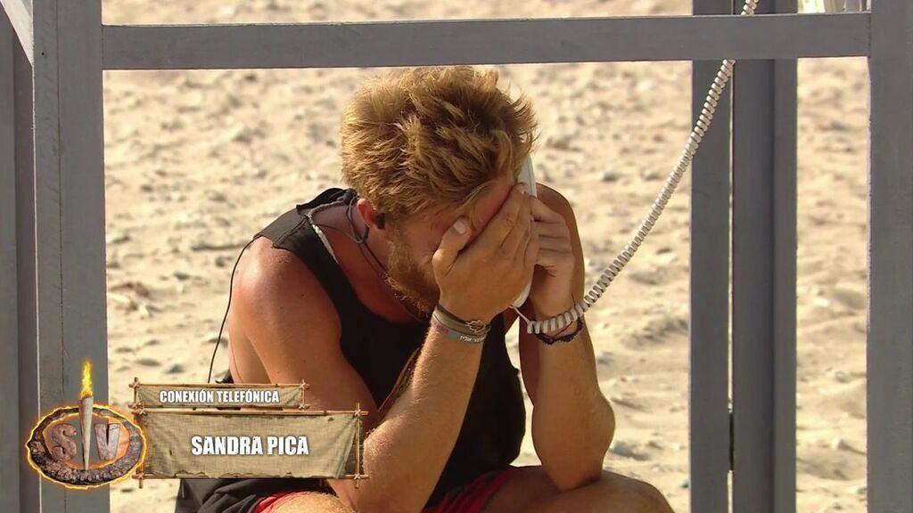 """Tom, destrozado al hablar con Sandra Pica: """"Sentimentalmente no estoy como antes, he conocido a alguien"""""""