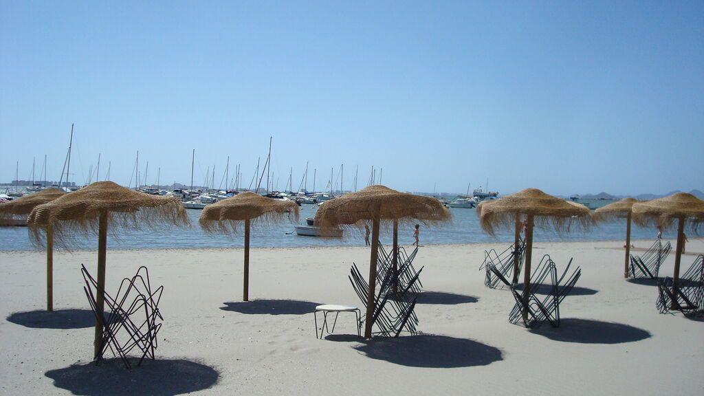 Playa Santiago de la Ribera.