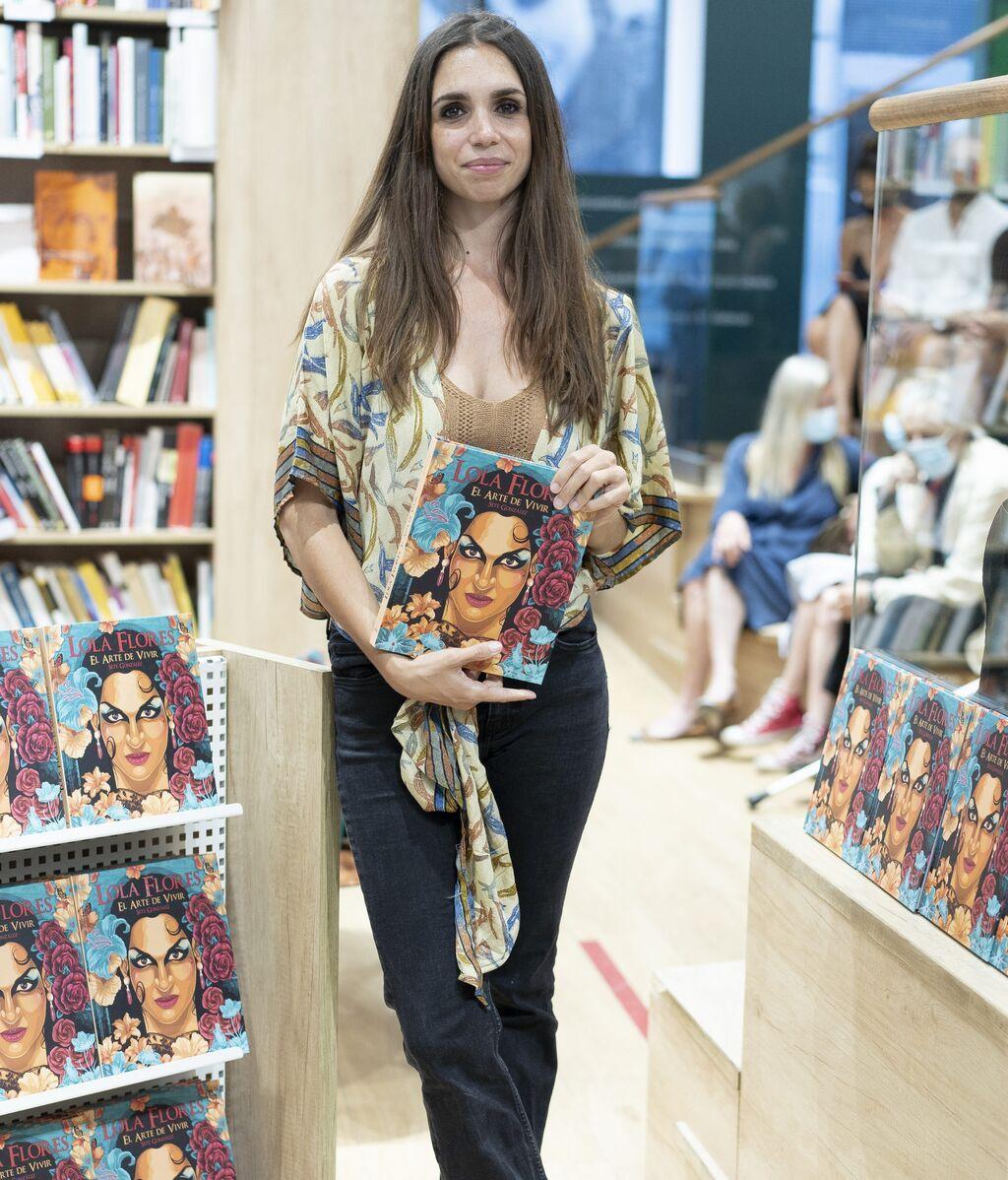 Elena Furiase, en la presentación de 'Lola Flores: el arte de vivir'