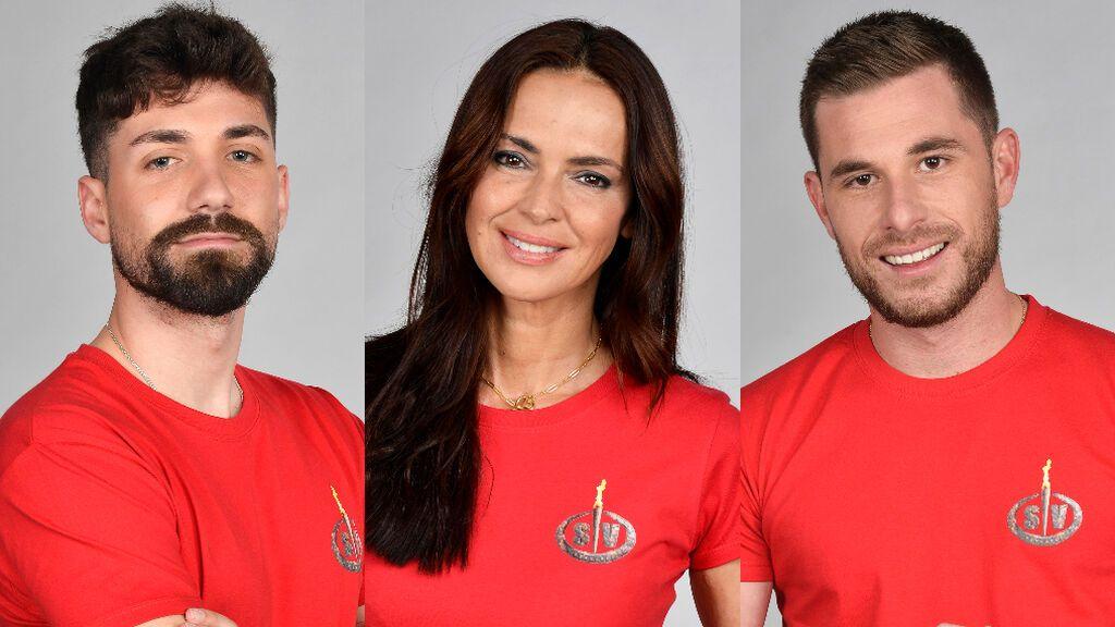 Alejandro Albalá, Olga Moreno y Tom Brusse, nominados de 'Supervivientes 2021'