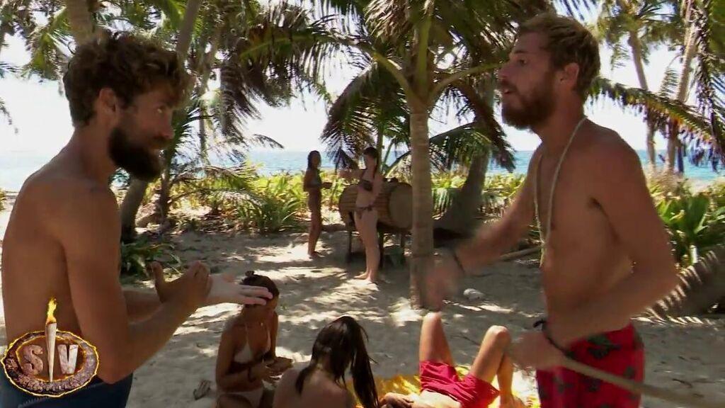 """Tensión máxima entre Tom y Albalá: """"vete a pescar y cállate esa boca sucia"""""""
