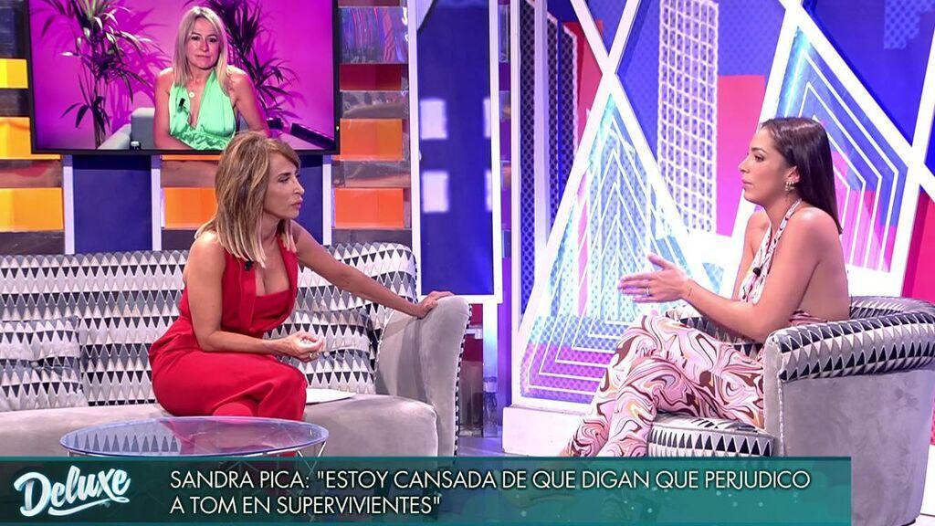 María Patiño y Sandra Pica.