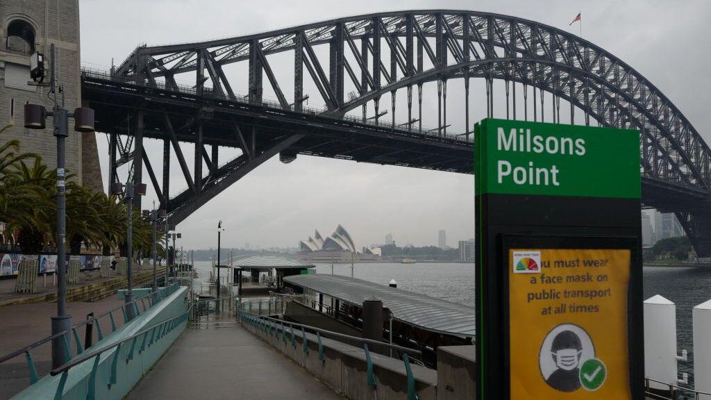 Sydney, más restricciones ante el repunte de casos de covid