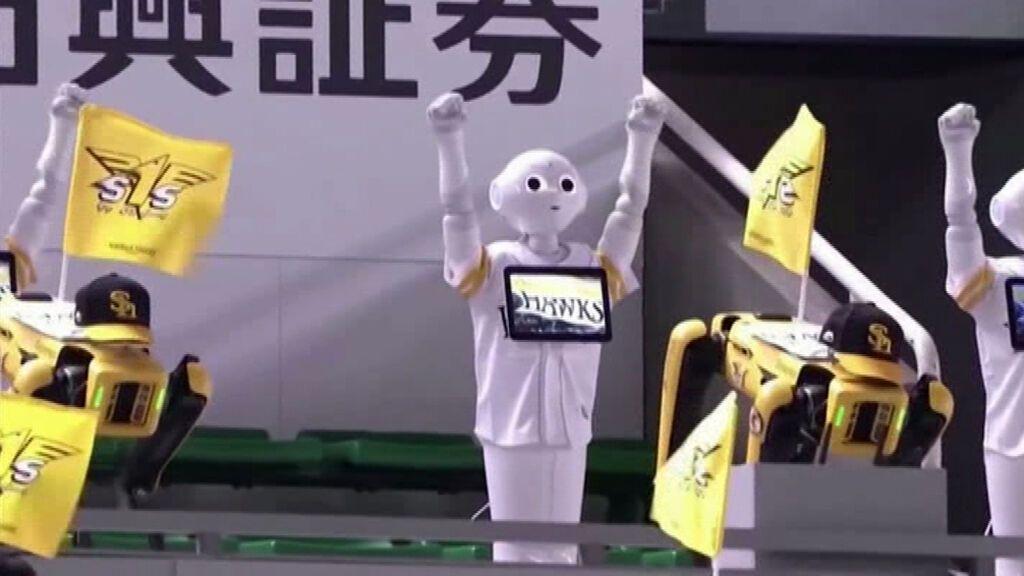 Japón instala robots, recortes de cartón y muñecos como público durante los JJ. OO. de Tokio