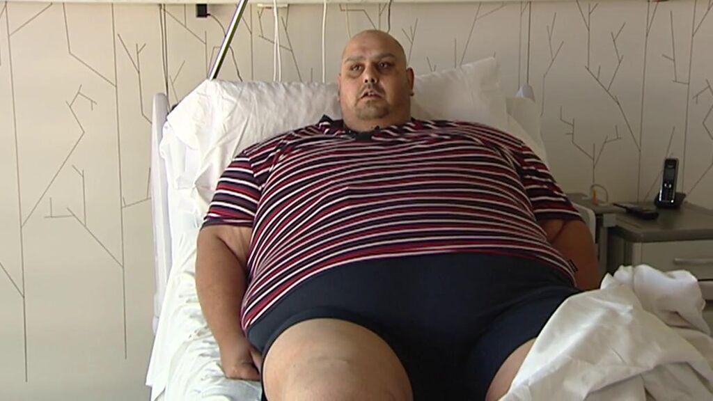 La historia de Jesús, con 39 años y 308 kilos: se ha sometido a una operación que le cambiará la vida