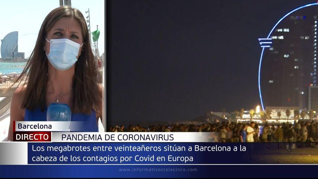 Barcelona, el epicentro del contagio entre jóvenes