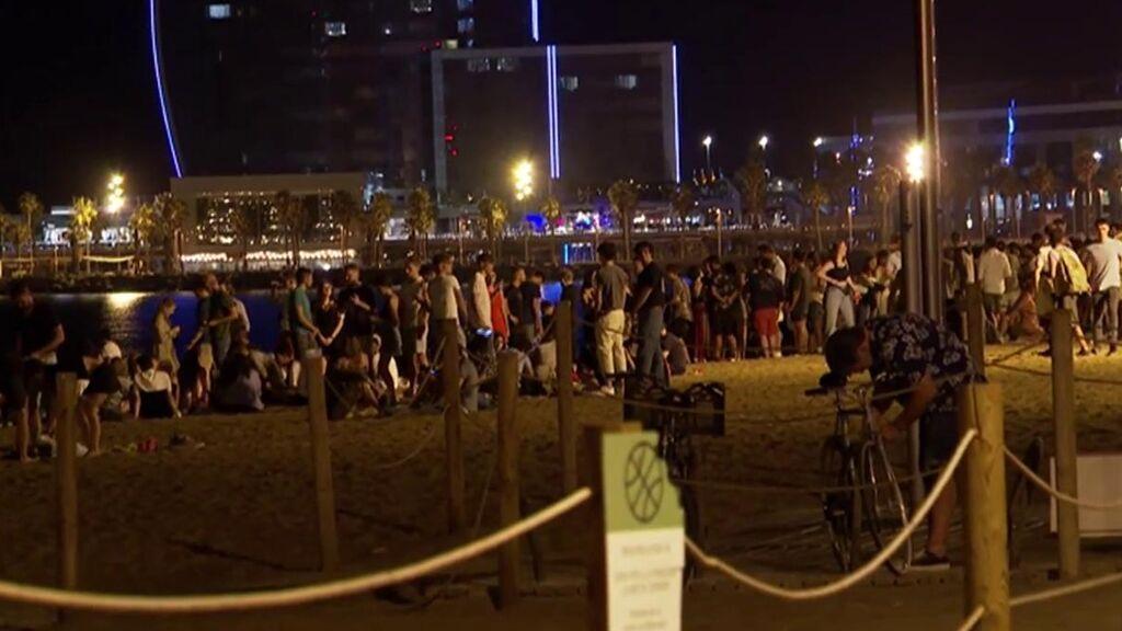 Barcelona, la ciudad que encabeza el contagio de jóvenes en España