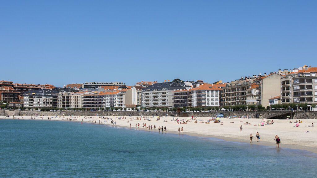 Galicia se escapa de la fuerte ola de calor este fin de semana
