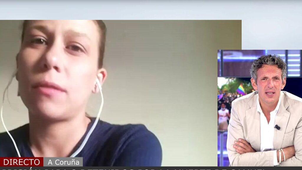 """Carla, amiga de los detenidos por el asesinato de Samuel: """"No son gente agresiva, ni homófobos"""""""