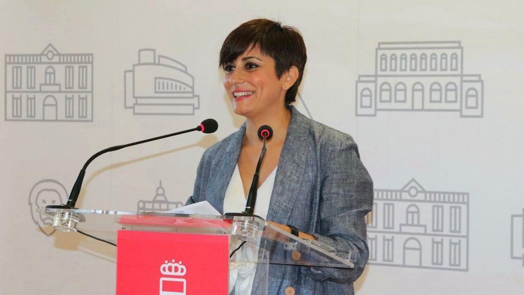 Isabel Rodríguez, la nueva cara del Gobierno que releva a Iceta al frente de Política Territorial