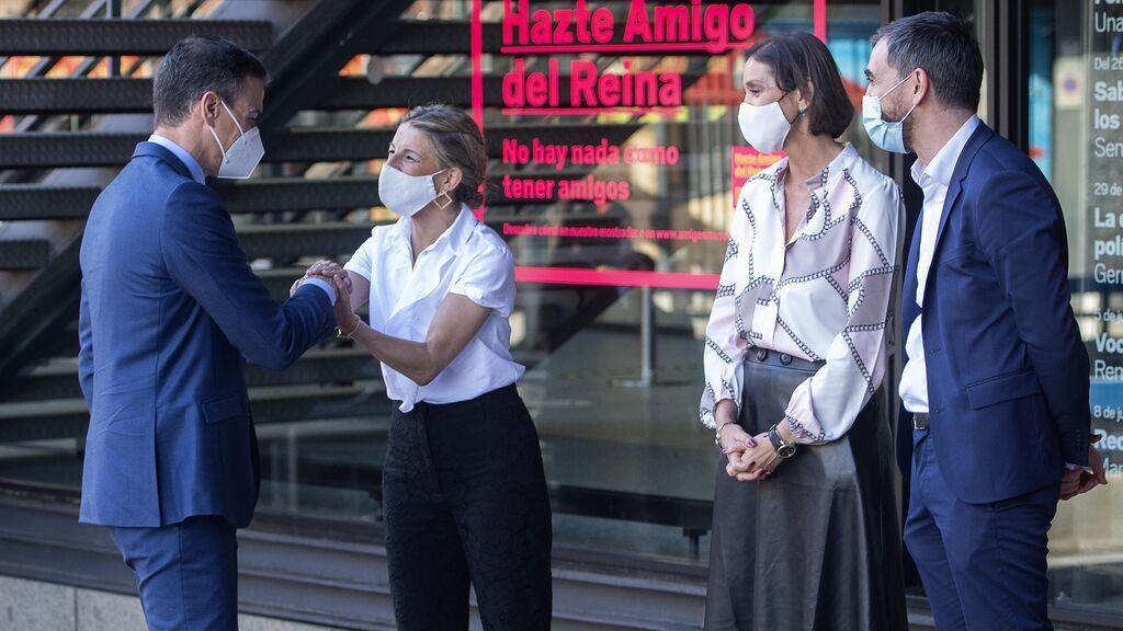 Yolanda Díaz negoció con Sánchez que los ministros de Unidas Podemos mantuvieran sus carteras