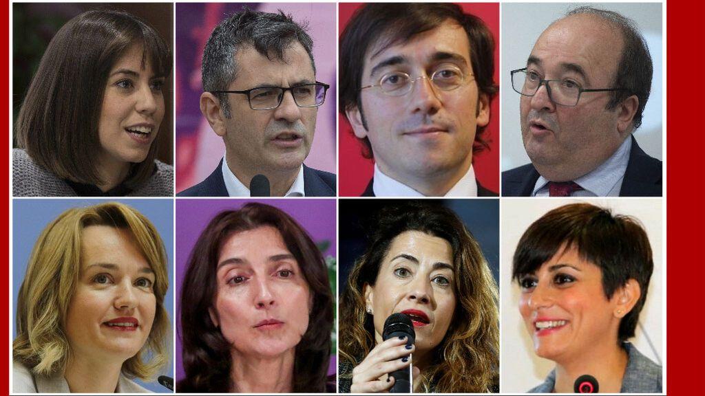 Estos son los nuevos ministros de Pedro Sánchez