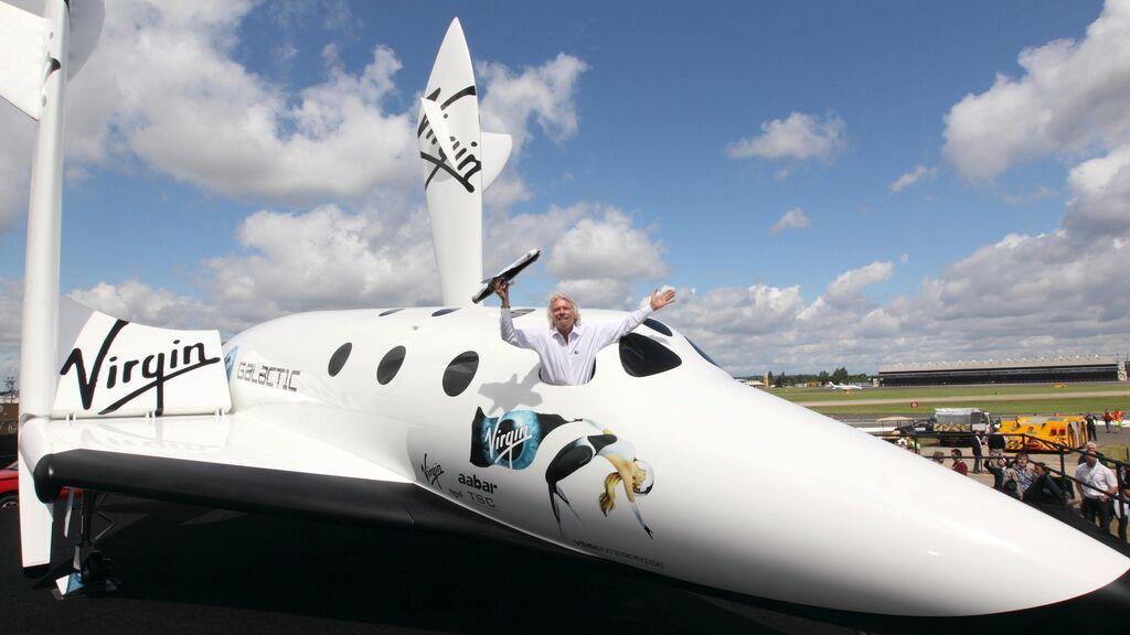 En directo: El magnate Richard Branson vuela al espacio en el avión cohete de Virgin Galactic