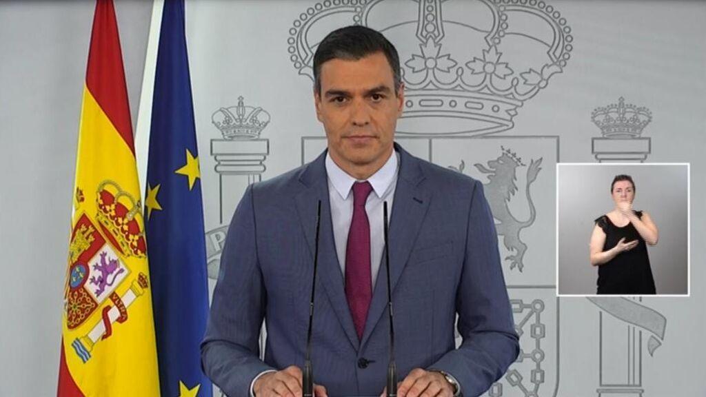 La comparecencia íntegra de Pedro Sánchez sobre la remodelación del Gobierno