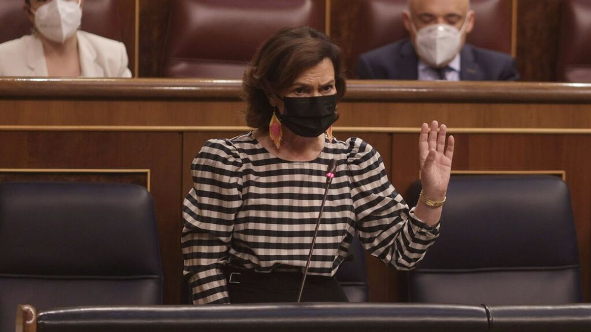 EuropaPress_3768747_vicepresidenta_primera_ministra_presidencia_relaciones_cortes_memoria