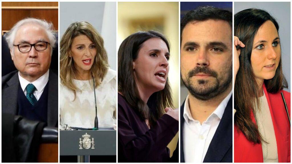 La remodelación de Gobierno de Pedro Sánchez no afecta a los ministerios de Unidas Podemos