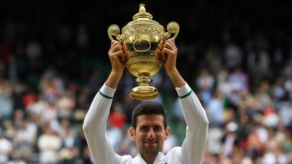 El tenista serbio Novak Djokovic gana su sexto Wimbledon y alcanza los 20 'grandes' de Federer y Nadal