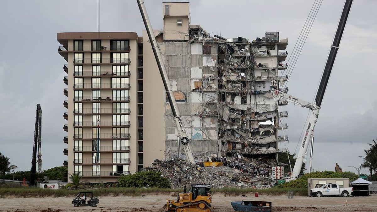 Encuentran los cuerpos de dos sobrinas de la primera dama de Paraguay en el edificio derrumbado de Miami