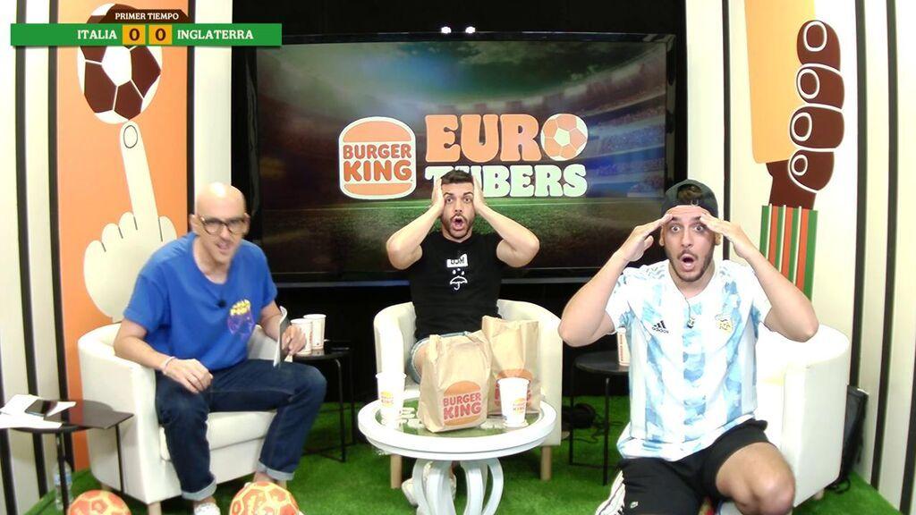 Reacción de Eurotubers al gol de Shaw para Inglaterra