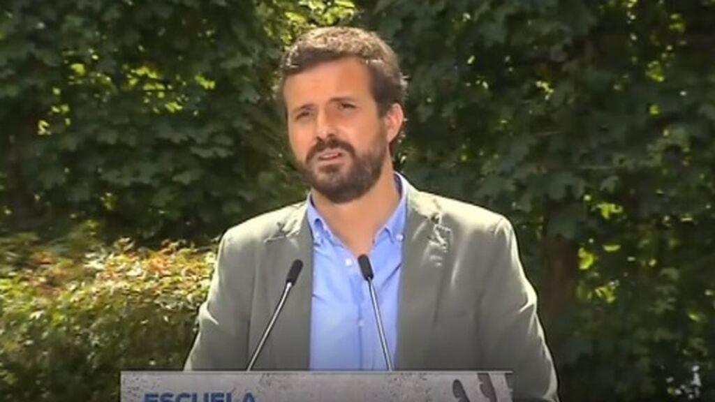 """Casado, a Sánchez tras su nuevo Gobierno: """"El problema eres tú y él que te tienes que ir a tu casa eres tú"""""""