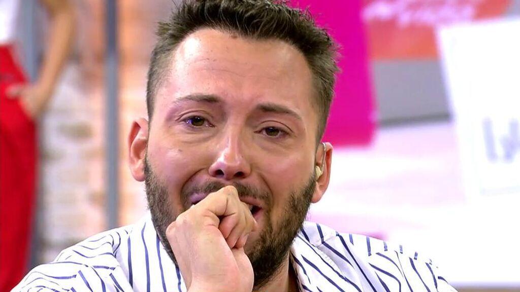 José Antonio Avilés rompe a llorar: su novio le acaba de dejar
