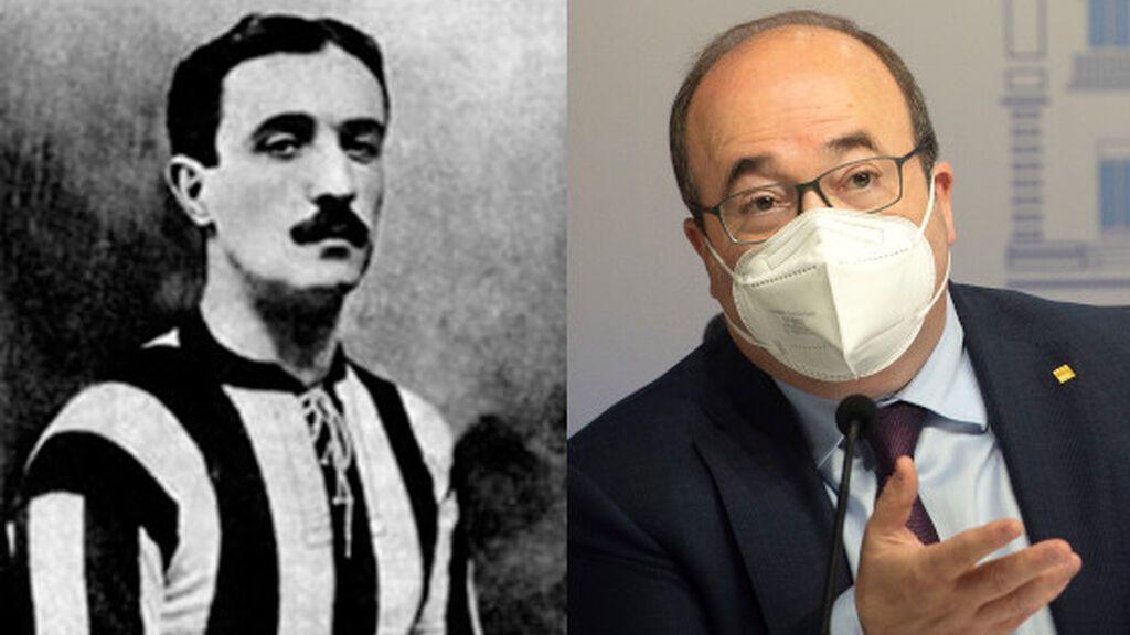 Luis Iceta, el antepasado del nuevo ministro de Deporte que fue futbolista del Athletic y seleccionador