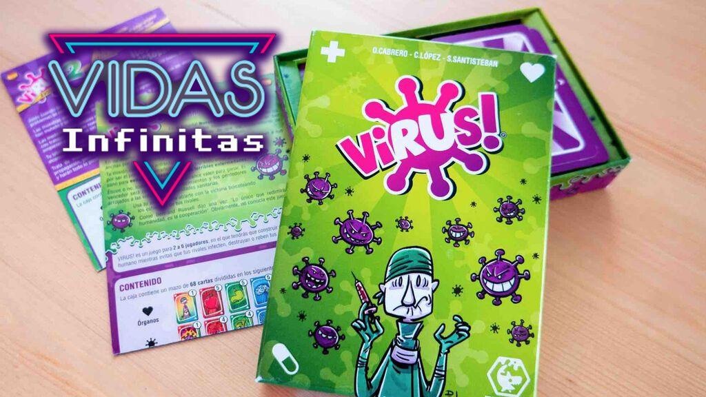 Vidas Infinitas #23: Charlamos con Santi Santiesteban, el creador de Virus!