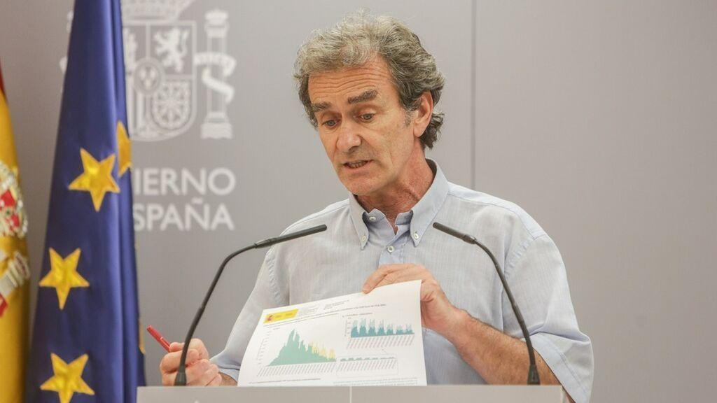 En directo: Fernando Simón actualiza la situación de la pandemia en España