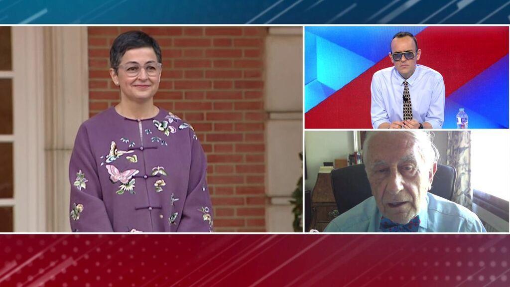Inocencio Arias habla sobre el papel de Laya como ministra