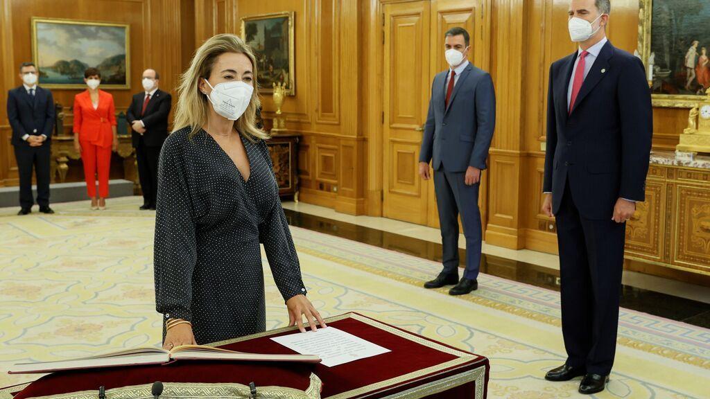 Raquel Sánchez, ministra de Transportes, Movilidad y Agenda Urbana