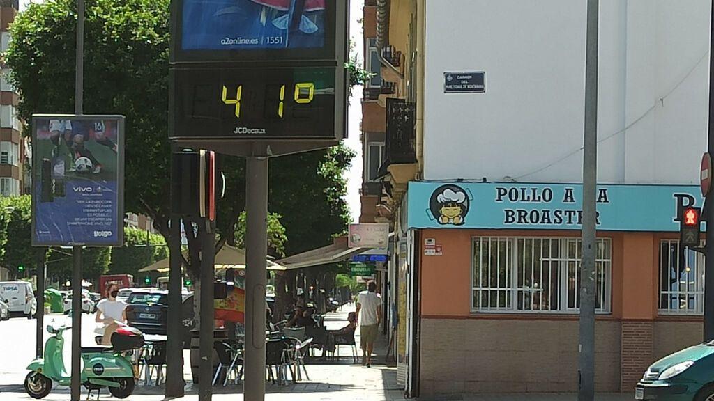 Los termómetros se disparan en Valencia, hasta los 41 grados