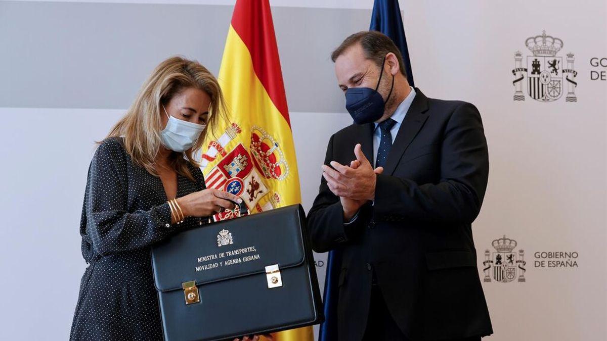 Ábalos se despide del Ministerio sin nombrar a Sánchez