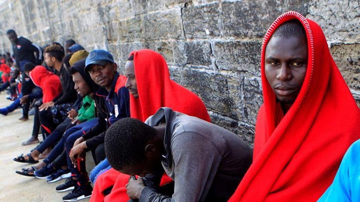 Entran a Melilla 119 subsaharianos en un salto a la valla de más de 200